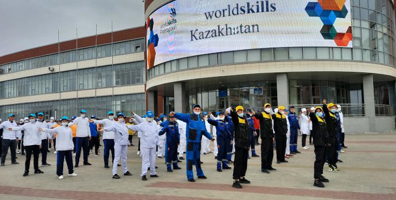 Открытие IV-ого Национального чемпионата «Worldskills Kazakhstan 2021»